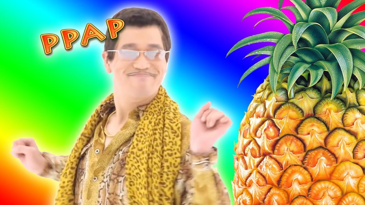 pikotaro with his song pen pineapple apple pen