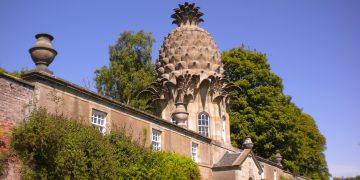 Dunmore's Pineapple in Scotland