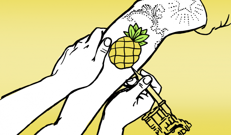 The PINEAPPLE TATTOO in 2020: a quick inspo guide